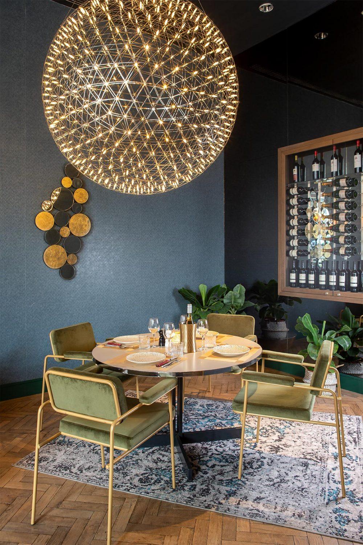 Interior design inside Pullman GA Restaurant